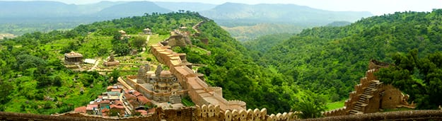 Kumbhalgarh Fort panorama photo
