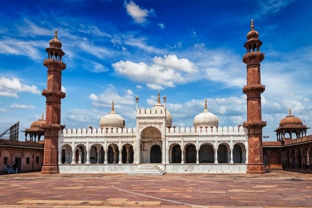 Moti Masjid (Pearl Mosque), Bhopal, Madhya Pradesh