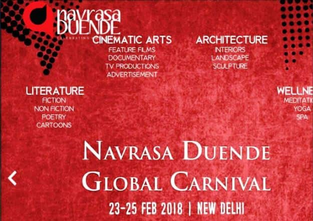 Navrasa Duende Global Carnival in Delhi Promises Three Days of Art, Theater and Dance in February 2018