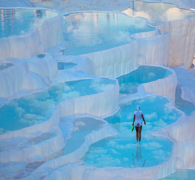 Photos of Turkey's Pamukkale Will Totally Spark your Wanderlust