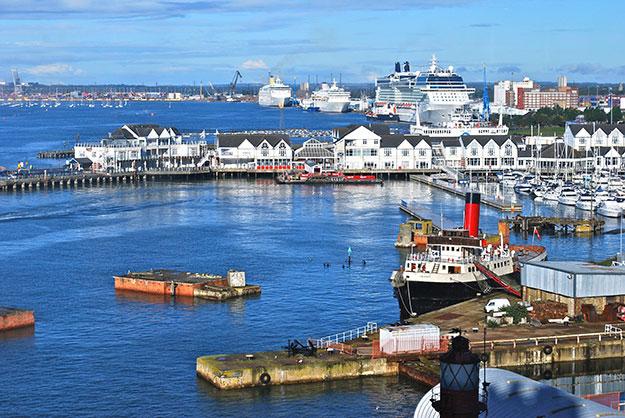 Southampton port photo England