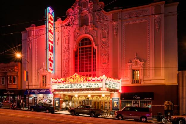 Castro Theater in Castro street, San Francisco