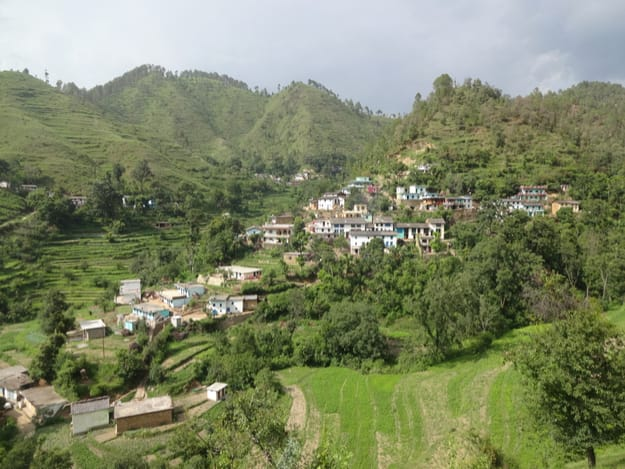 Village Syuni in Pithoragarh