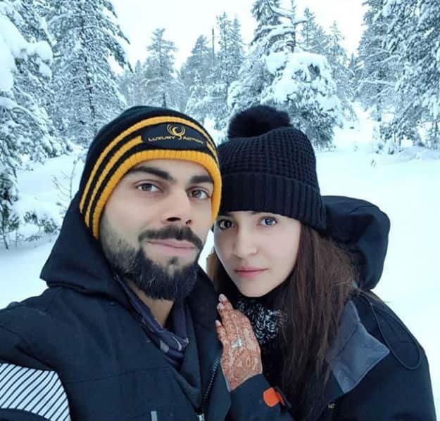 Anushka Sharma Just Posted This Lovely Honeymoon Picture With Virat Kohli and It's Couple Travel Goals!