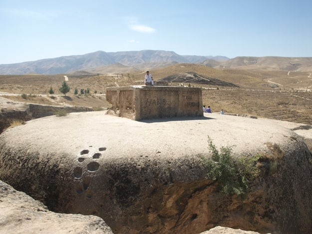 Ancient Buddhist temple, Afghanistan