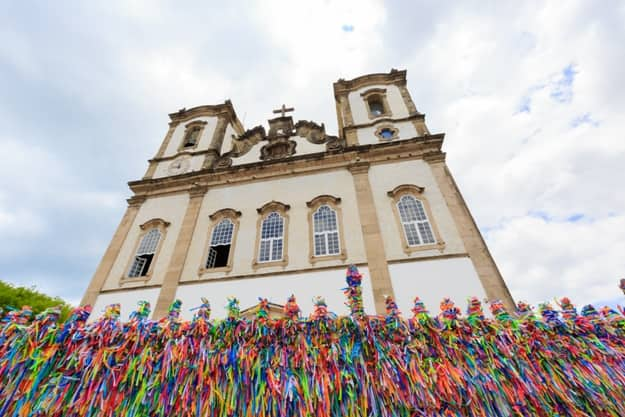 Bonfim Church in Salvador Bahia Brazil