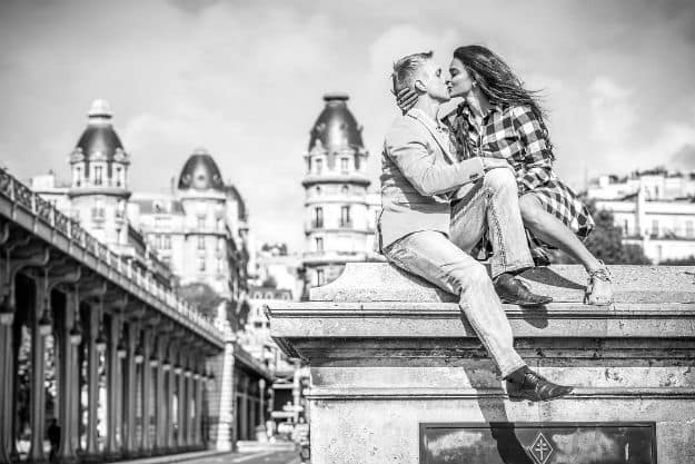 When Aashka Goradia and Brent Goble Kissed in The World's Most Romantic Destination