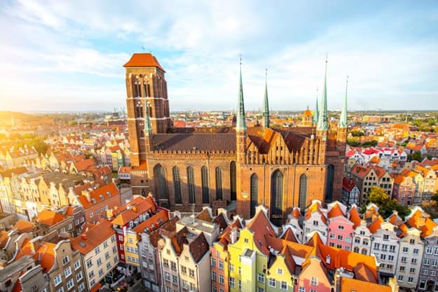Photos of Gdansk in Poland, a Scarred Gateway City to the Baltic Coast