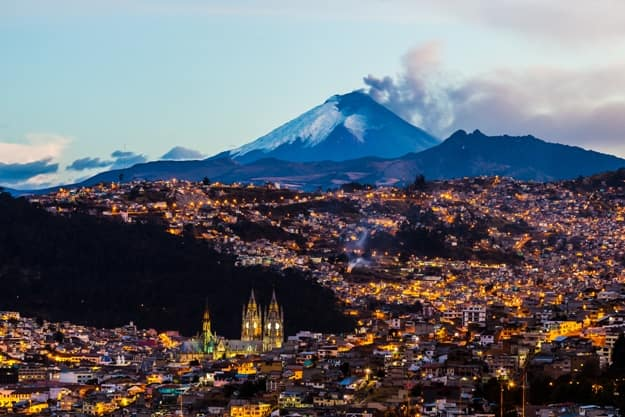 Photos of Quito, a Capital City on the Foothills of the Mighty Andes