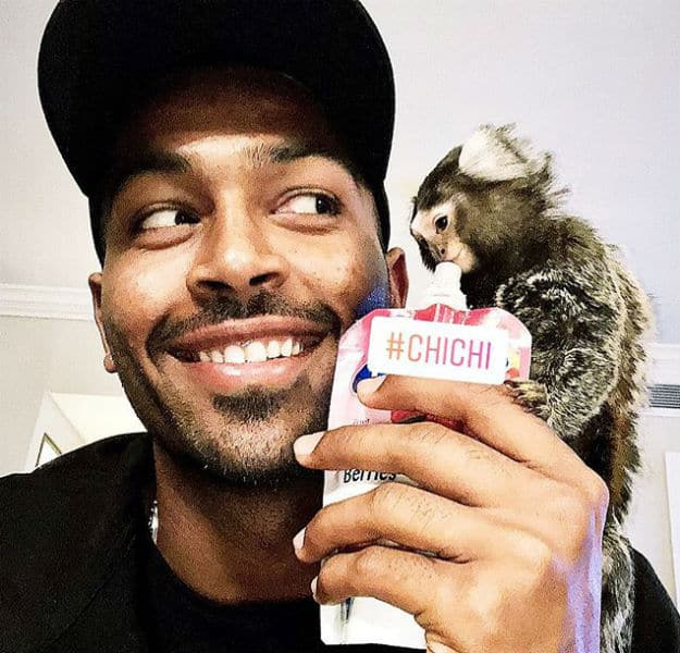"""Hardik Pandya Posts Adorable Pic with """"Beautiful Friend"""" in South Africa!"""