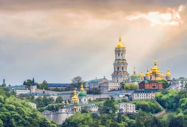 Kiev Monastery of the Caves or the Kiev Pechersk Lavra