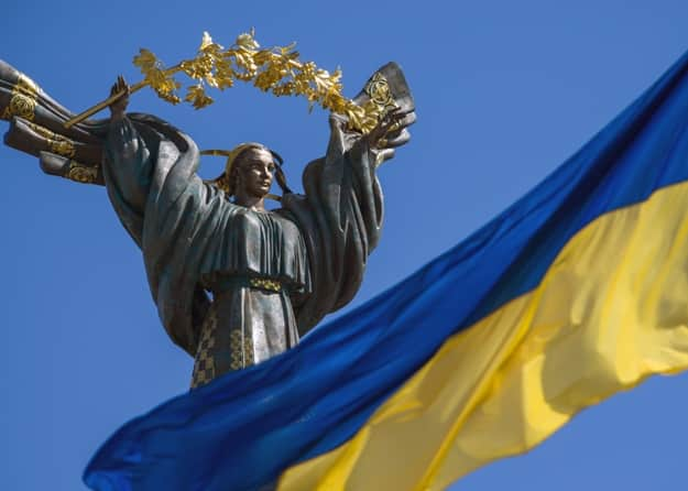 Monument of Independence in Kiev