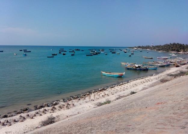 Pamban beach, Rameshwaram, Tami Nadu, India