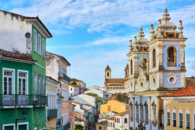 Pelourinho (Pillory), is a historic neighborhood in western Salvador, Bahia. It was the city's center during the Portuguese colonial period
