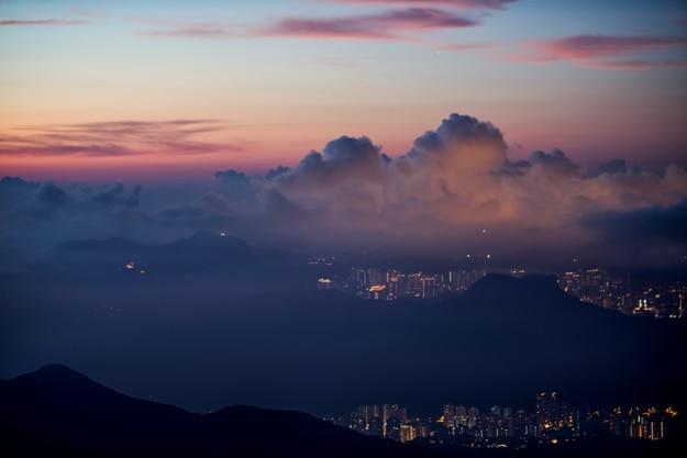 Tai Mo Shan Twilight (Credit-Elvis Mo)