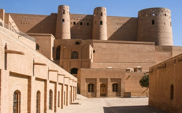 The Citadel of Herat on October 22, 2012 in Herat, Afghanistan. Herat is the third largest city of Afghanistan, with a population of about 450,000