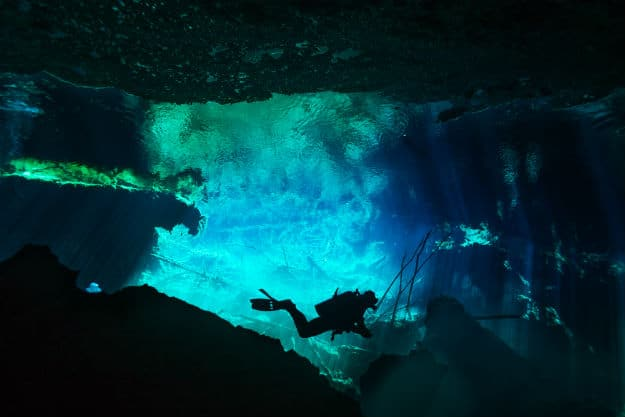 Explorers Discover World's Largest Underwater Cavern System in Mexico