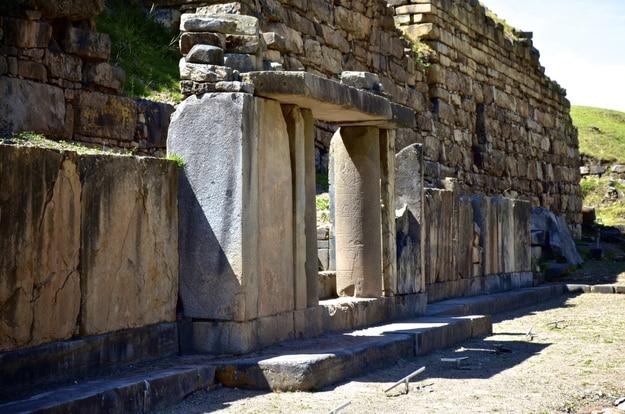 Chavin de Huantar temple complex, Ancash Province, Peru