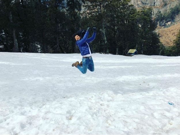 This Photo of Actor Arjun Bijlani Beautifully Captures the Spirit of Manali