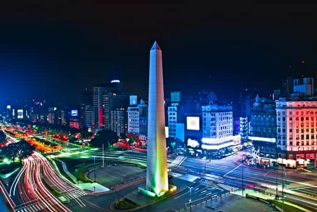Buenos-Aires city Night high difinition