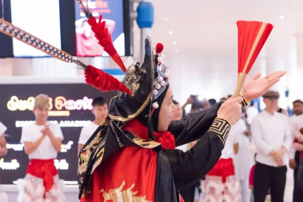 Chinese New Year celebrations at DXB
