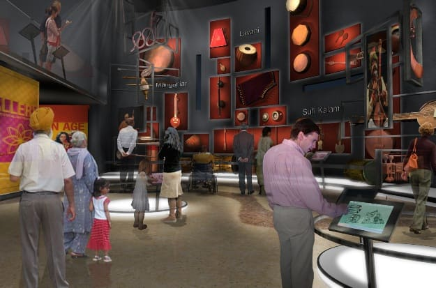 Instruments Gallery concept, Photograph Courtesy: IME