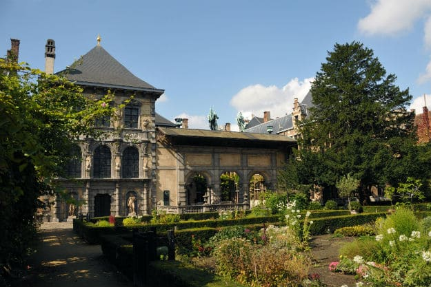 Rubens House - garden (Rubenstuin) Antwerp