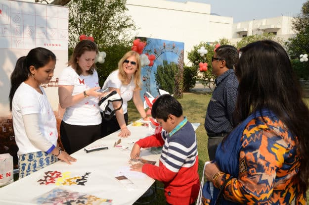 Vienna 2 - Vienna Family Day offered engaging activities for families of travel agents