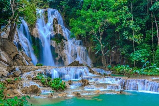 Kuang Si Falls photo Laos 1