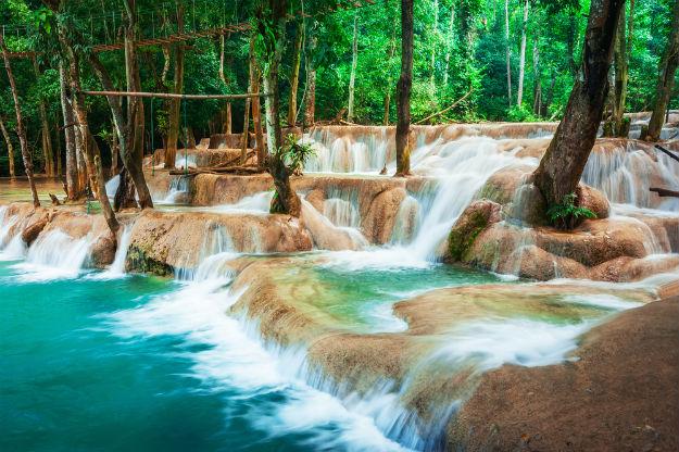 Kuang Si Falls photo Laos 10