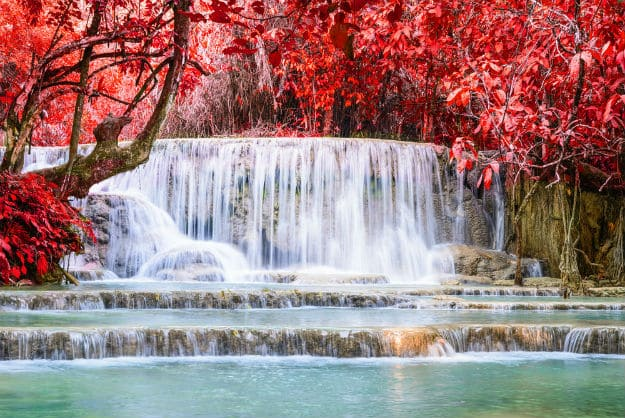 Kuang Si Falls photo Laos 13