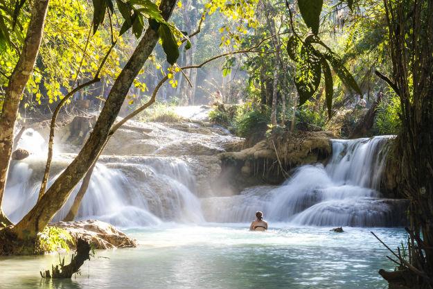 Kuang Si Falls photo Laos 14