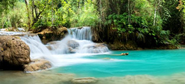 Kuang Si Falls photo Laos 15