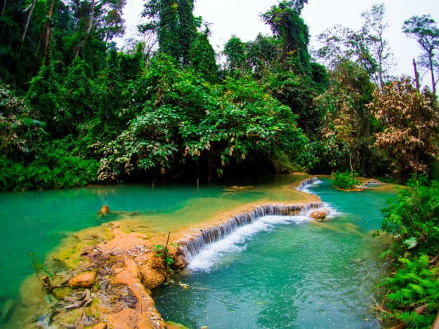 Kuang Si Falls photo Laos 3