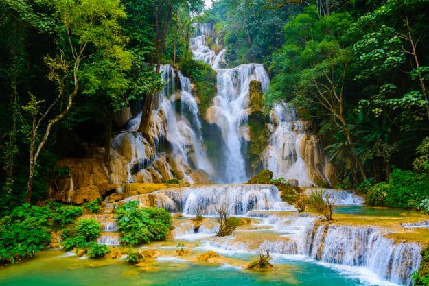 Kuang Si Falls photo Laos 6