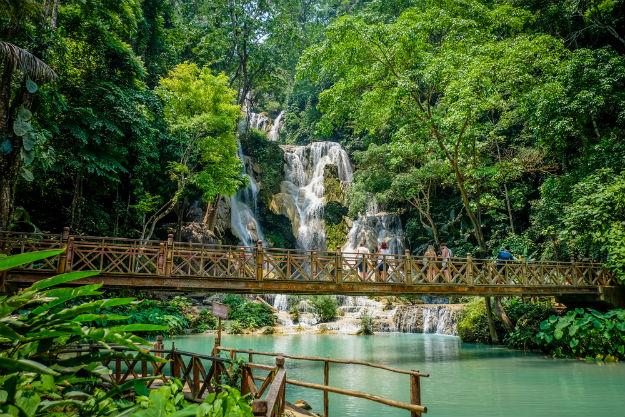 Kuang Si Falls photo Laos 8
