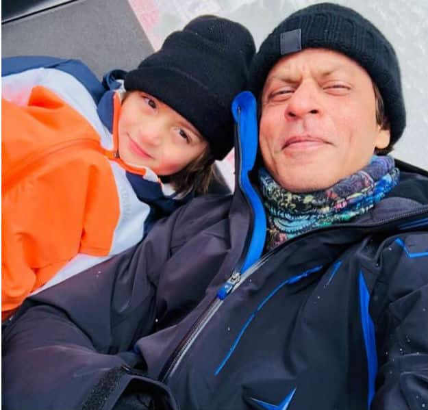 Shah Rukh Khan and Little AbRam are Holidaying in Switzerland and Their Photos are Just Adorable!