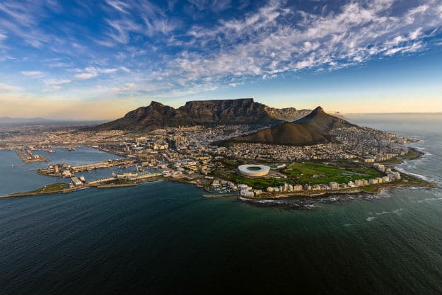 Table mountain photo - south africa