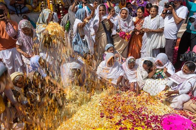 Vrindavan Holi photo 1