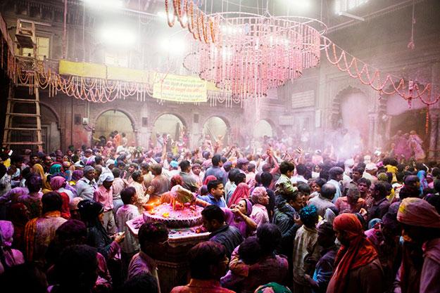 Vrindavan Holi photo 4
