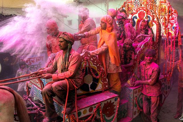 Vrindavan Holi photo 5