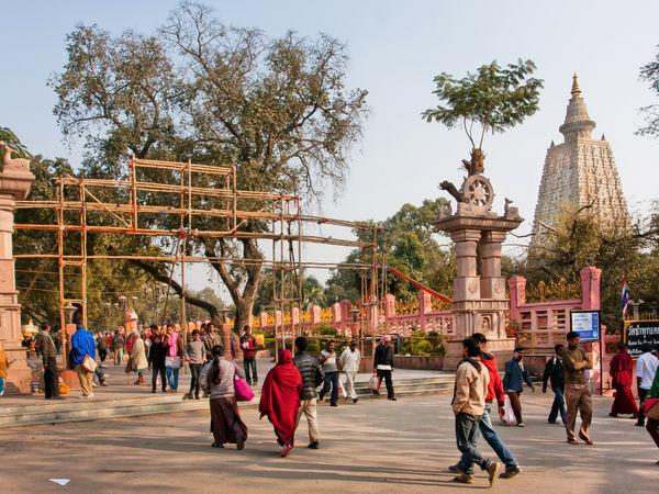 Mahabodhi Temple in Gaya, Bihar