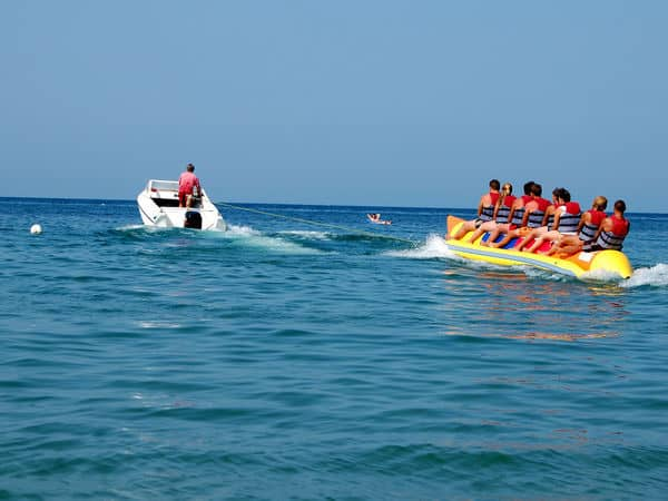 Water sports in Goa Banana ride - Goa