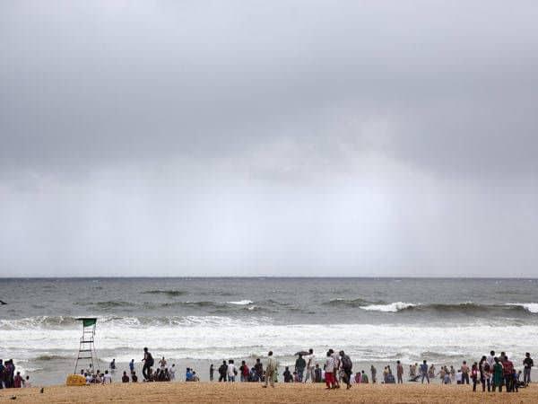 Calangute beach one of the most crowded beaches in Goa - Goa
