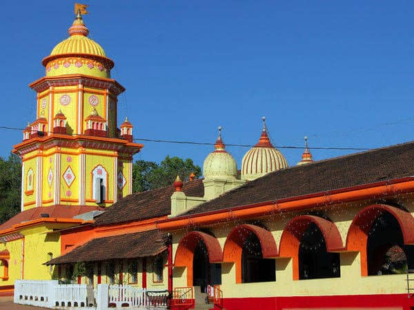 Beautiful Shantadurga temple in Goa
