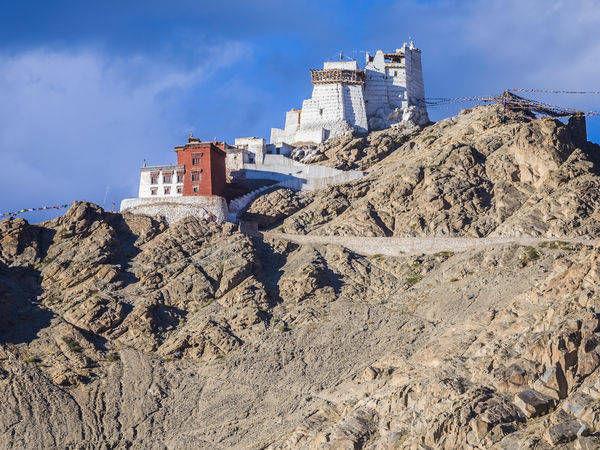 The Namgyal Tsemo gompa in Ladakh - Ladakh - Jammu-and-Kashmir