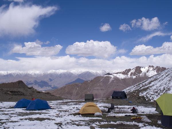 Camping at Zanskar - Leh - Jammu-and-Kashmir