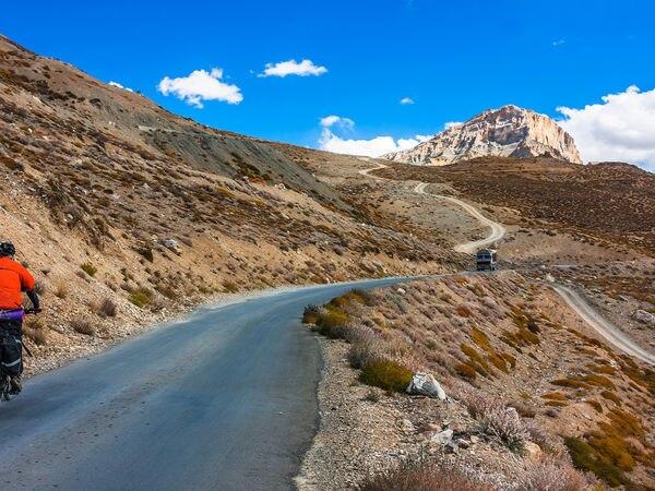 Mountain biking is one of the major adventure activities undertaken in Jammu and Kashmir - Leh - JammuandKashmir
