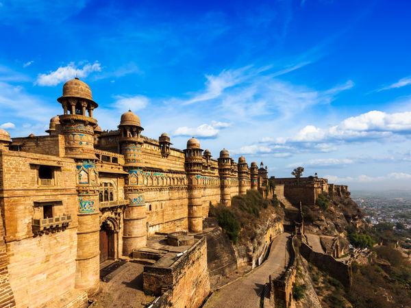 The great fort of Gwalior - Gwalior - Madhya-Pradesh