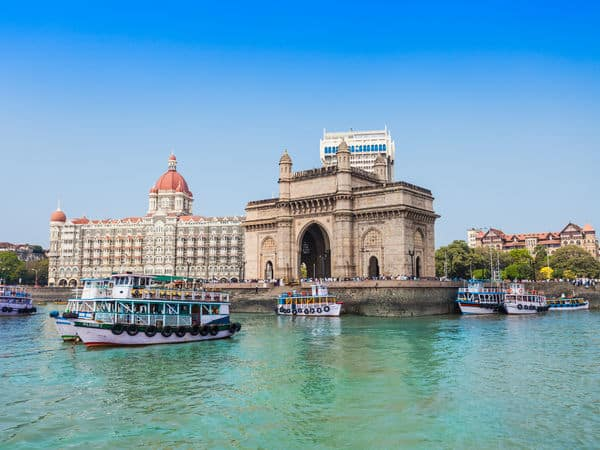 Gateway Of India With Taj Hotel in the backdrop - Mumbai - Maharashtra
